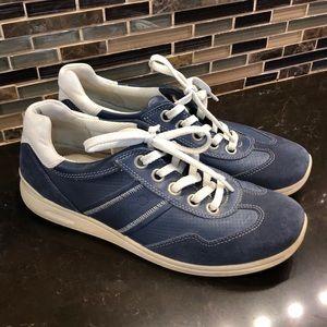 ECCO powder blue women's sneakers 38